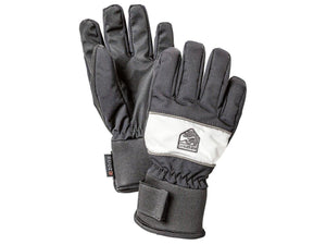 Trick Czone Jr - 5 Finger Gloves HESTRA Black/Ivory 5