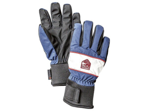 Trick Czone Jr - 5 Finger Gloves HESTRA Medium Blue/Ivory 6