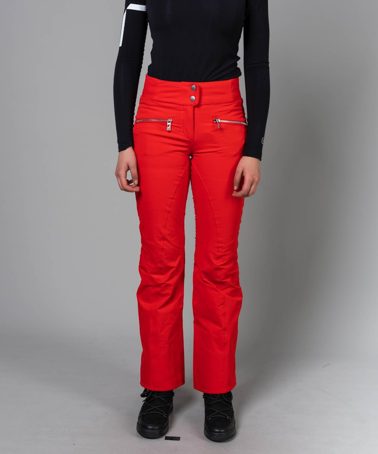 Women's Alla New Ski Pants Ski Pants Toni Sailer Flame Red S