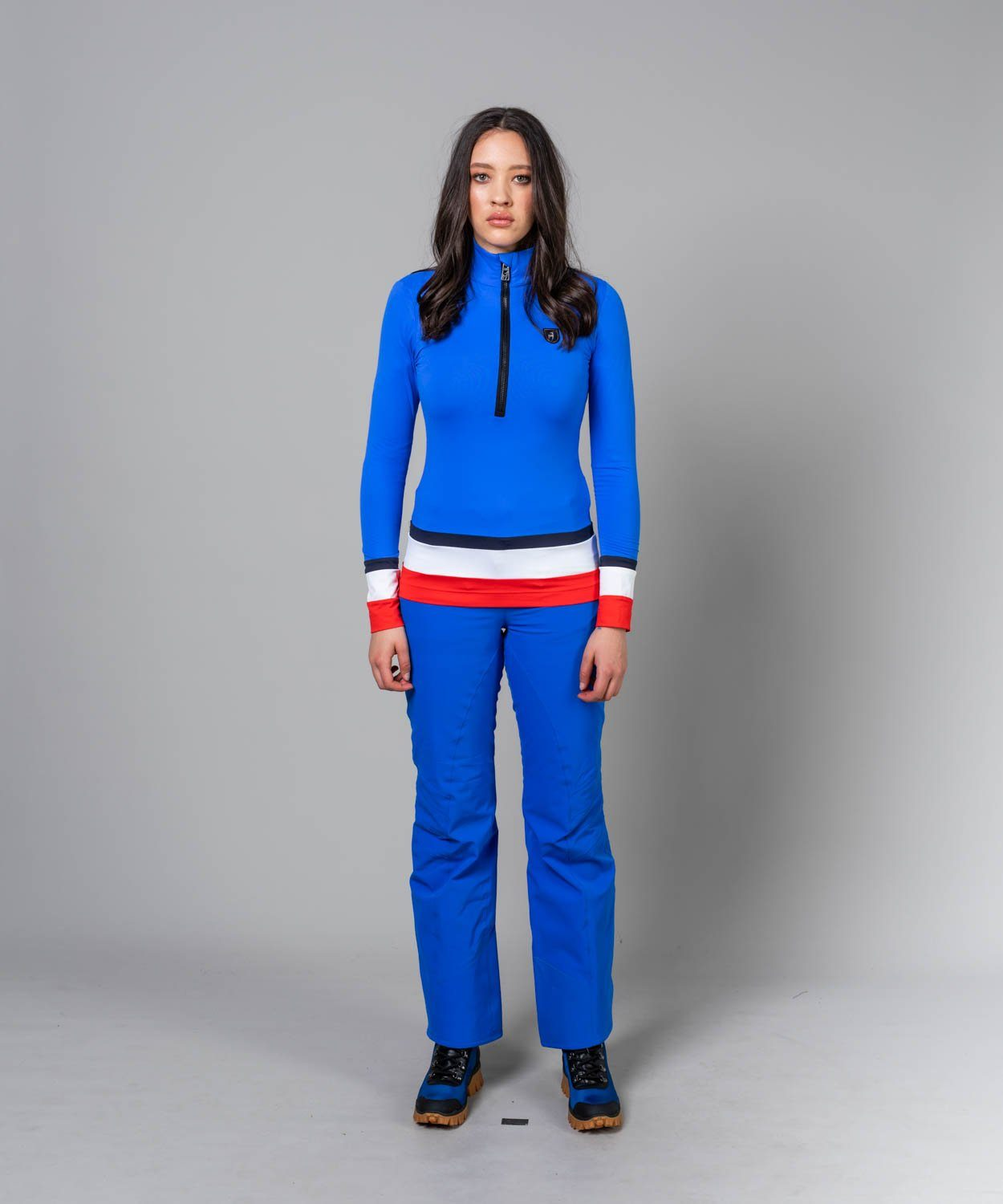 Women's Alla New Ski Pants Ski Pants Toni Sailer Yves Blue S