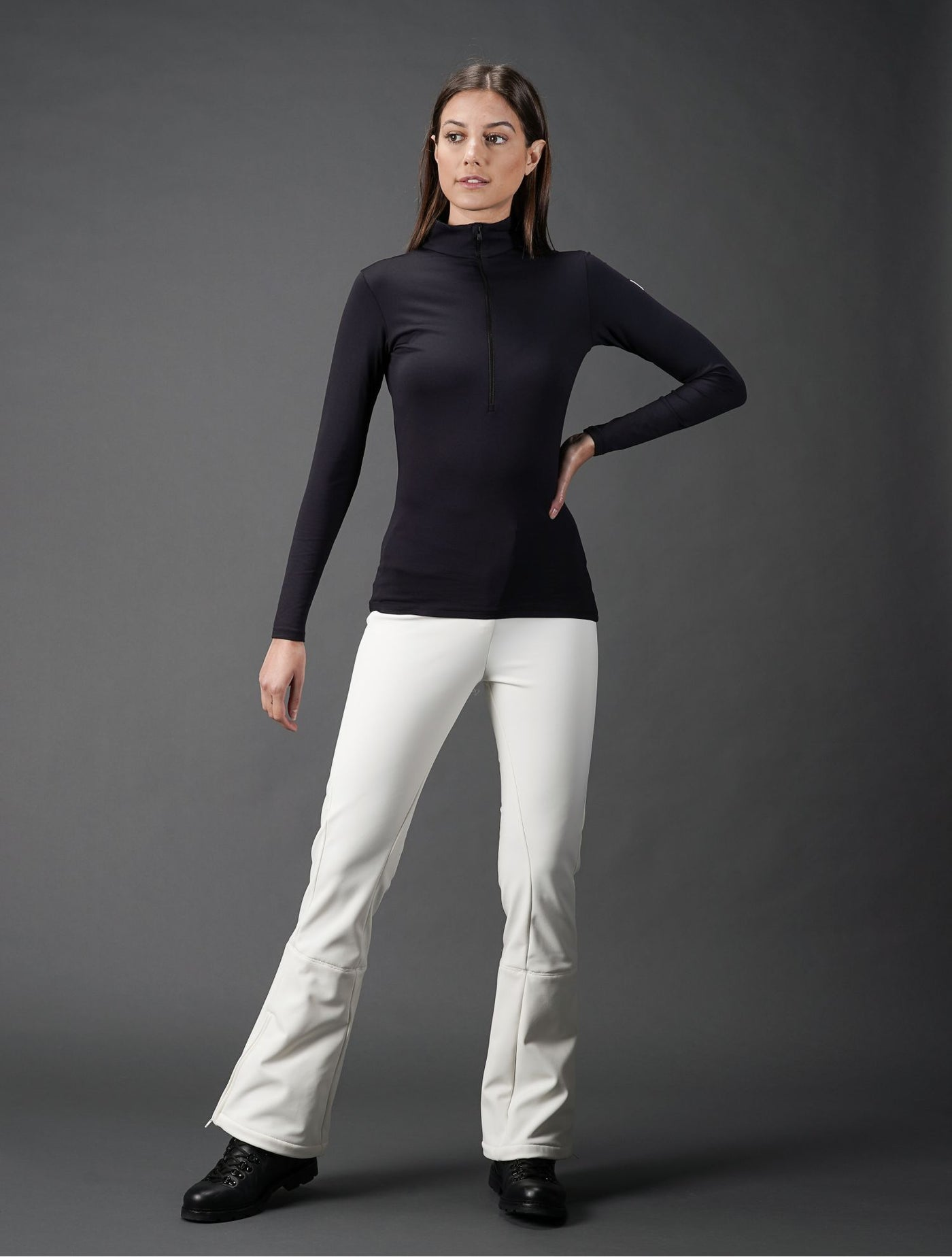 Women's Gemini III Base Layer Base Layers | Thermals Fusalp Black XS