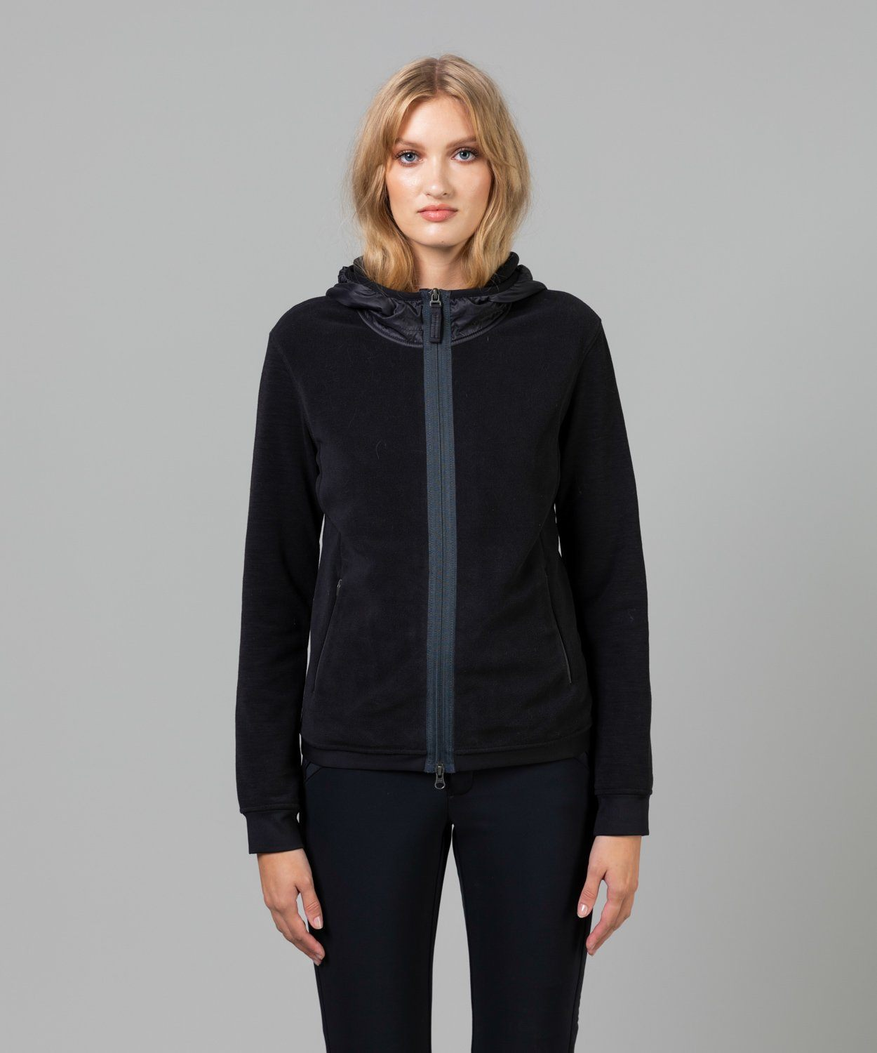 Women's Isla Multi Fleece Jacket Mid Layer Frauenschuh Black S