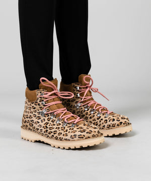 Women's Leopard Roccia Vet Boot Footwear Diemme Leopard Haircalf 36