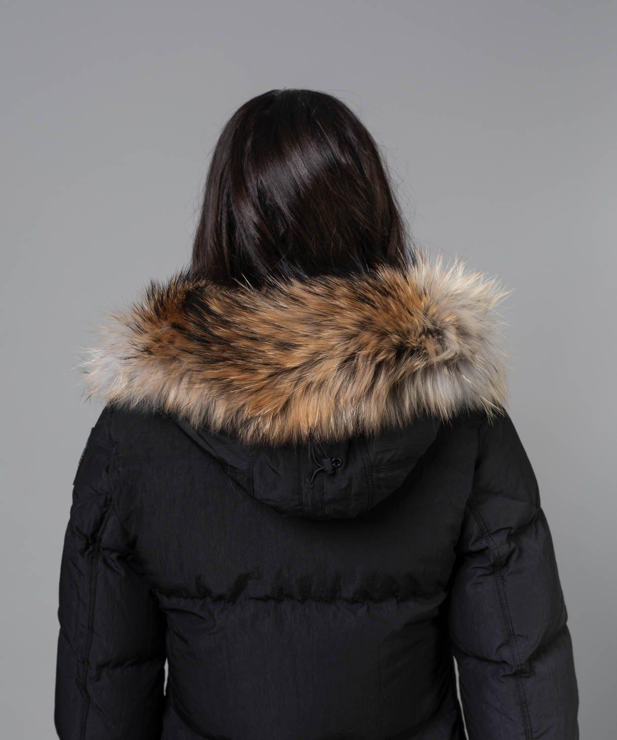 Women's Light Long Bear Hooded Down Coat Coats Parajumpers