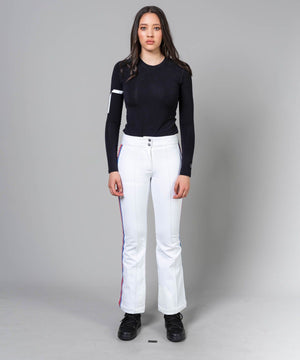 Women's Luella Ski Pants Ski Pants Toni Sailer White-Red Blue XXS