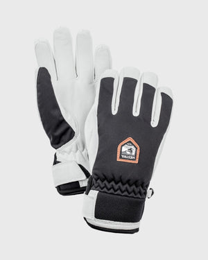 Womens Moje CZone Glove Gloves Hestra Black/White 6