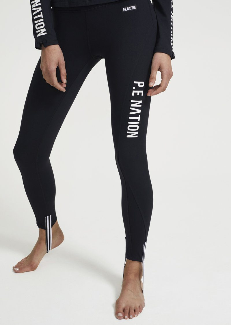 Women's Slalom Legging Unclassified P.E Nation Black XS