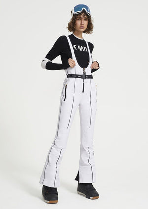 Women's Slalom Ski Jumpsuit Unclassified P.E Nation White XS