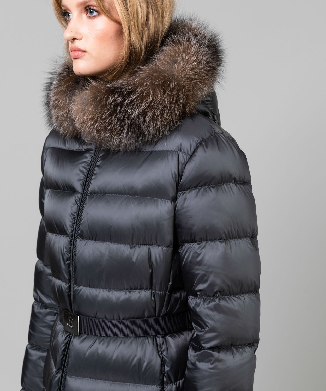 Women's Tinuv Down Fur Hood Coat Coats Moncler