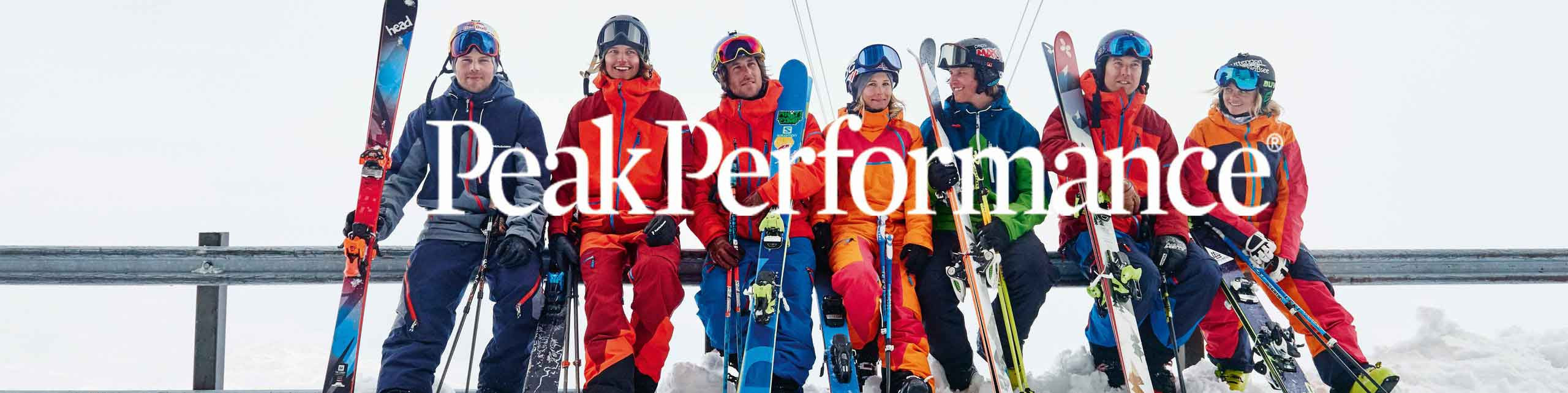 Peak Performance snow and active wear ski collection