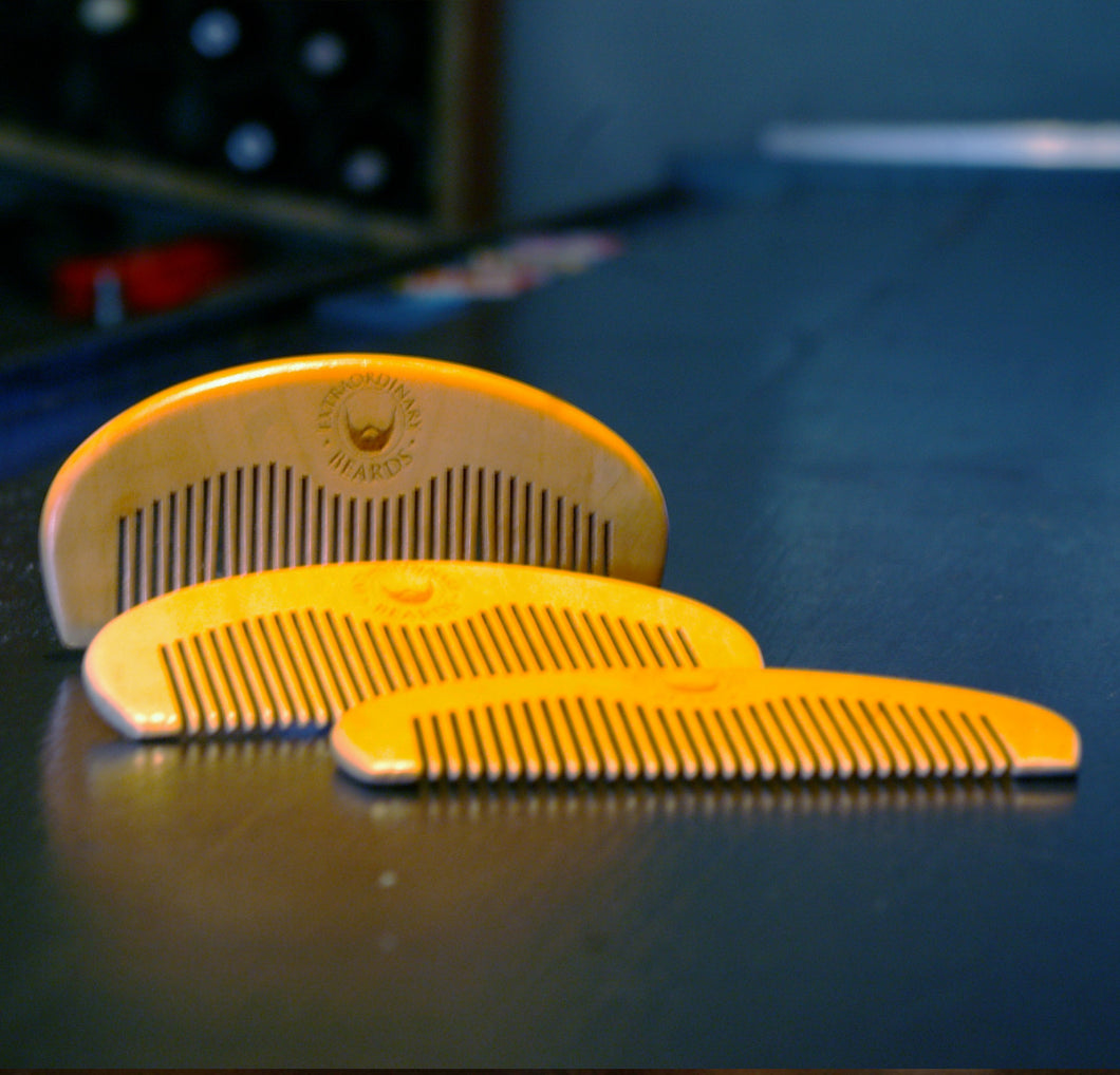 Basic Wood Beard Comb