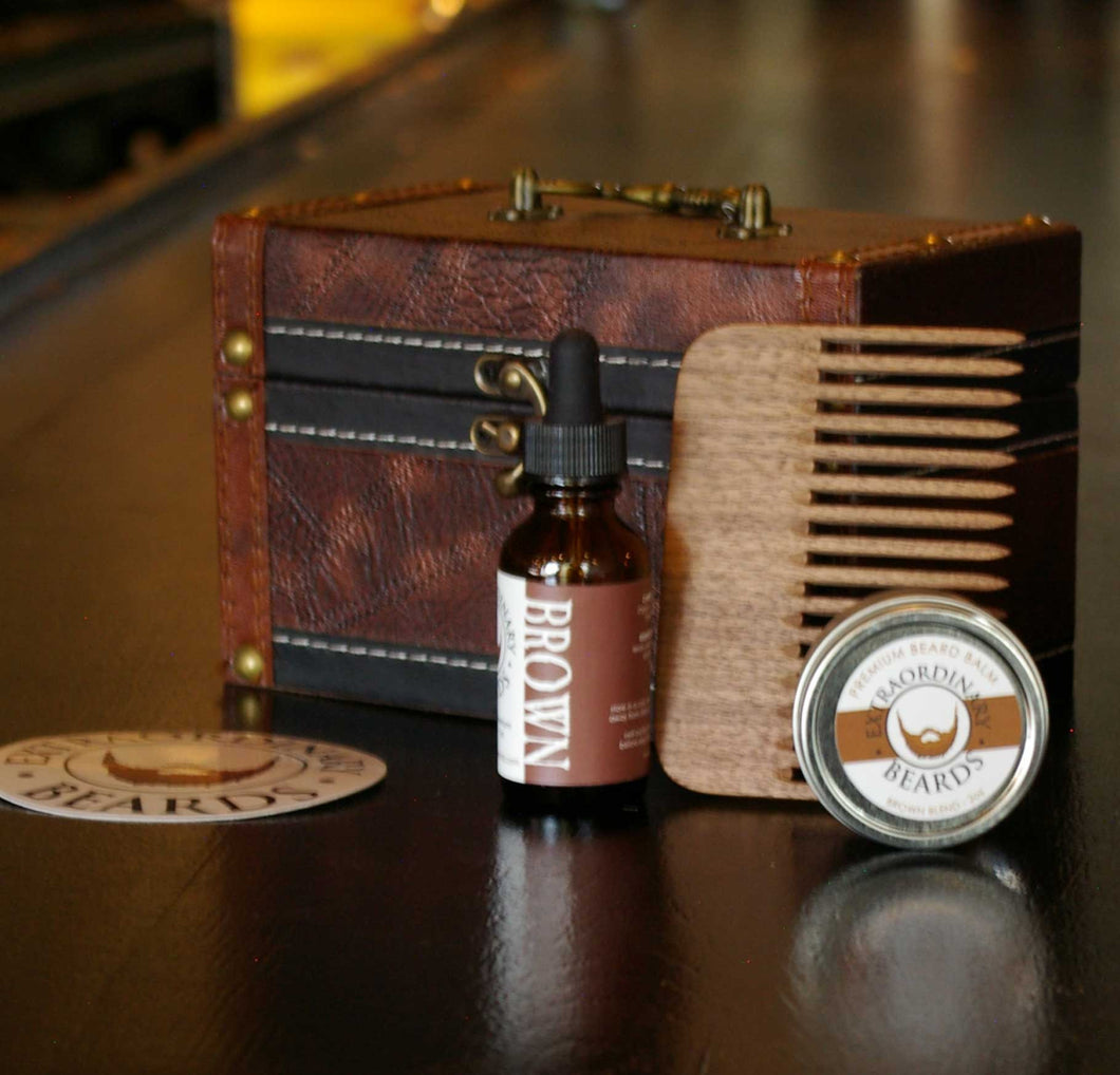 Bearded Statesman - Gift Set