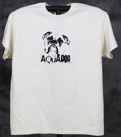 AquaDog Gildan B Logo Natural Cotton Shirt