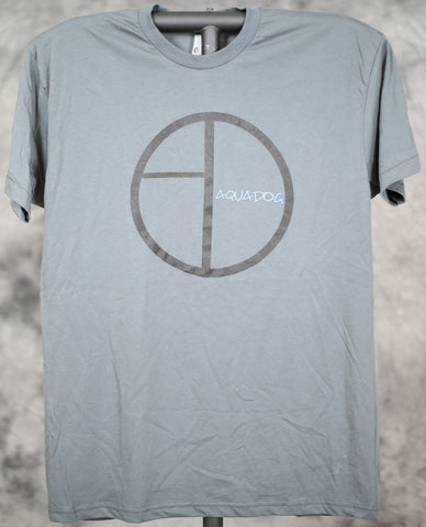AquaDog Logo Tee - Slim Fit American Apparel Shirt
