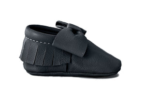 Black Bow Moccasins