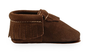 Brown Suede Classic Moccasins