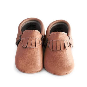 Classy Brown Classic Moccasins