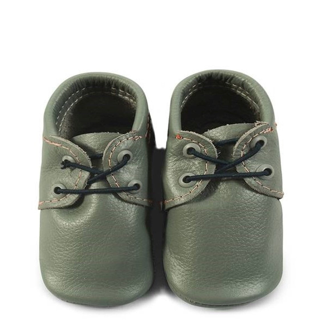Grey Oxford Boat Shoes
