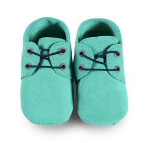 Mint Oxford Boat Shoes