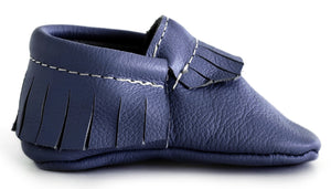 Navy Classic Moccasin