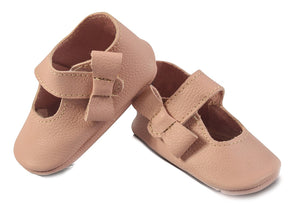 Pale Pink Mary Janes