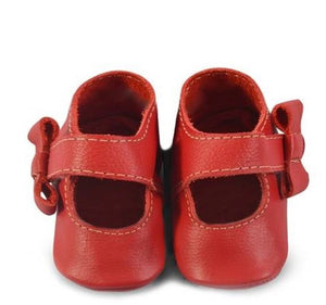 Crimson Red Mary Janes