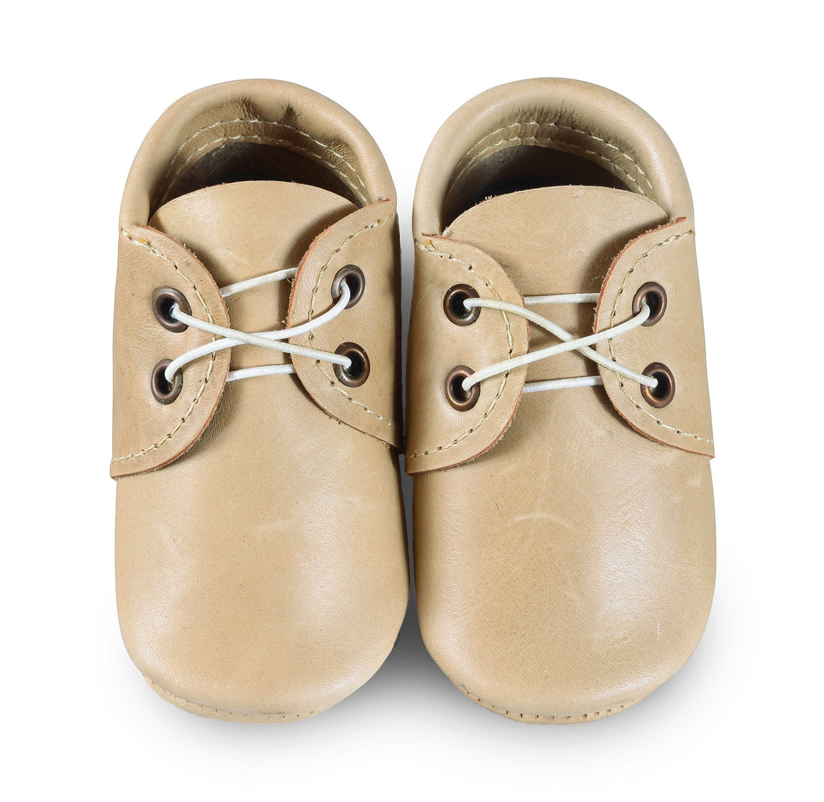 Tan Oxford Boat Shoes