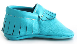 Teal Classic Moccasins
