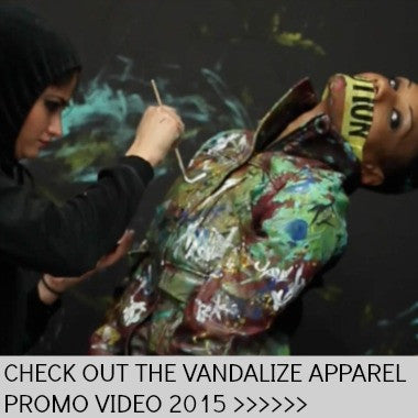 Vandalize Apparel NYC | Hand Painted Clothing | Get It.