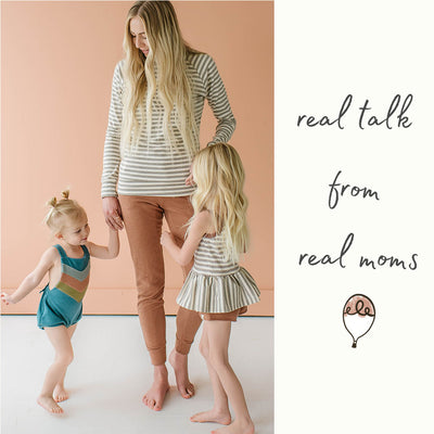 NOT SURE WHERE TO GET STARTED? ASK A FELLOW MOM!