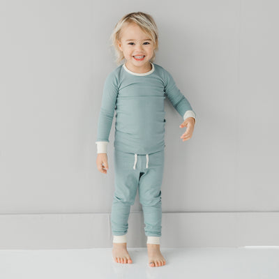 Sage and Dove Pajama Set