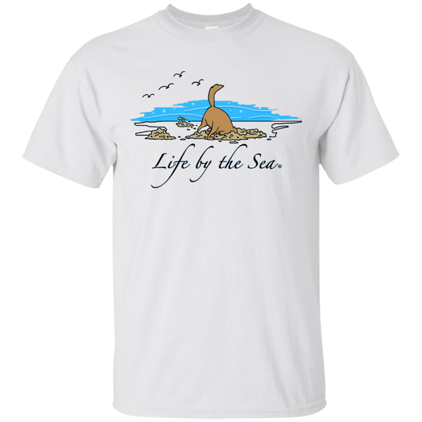 Dog on Beach T-Shirt