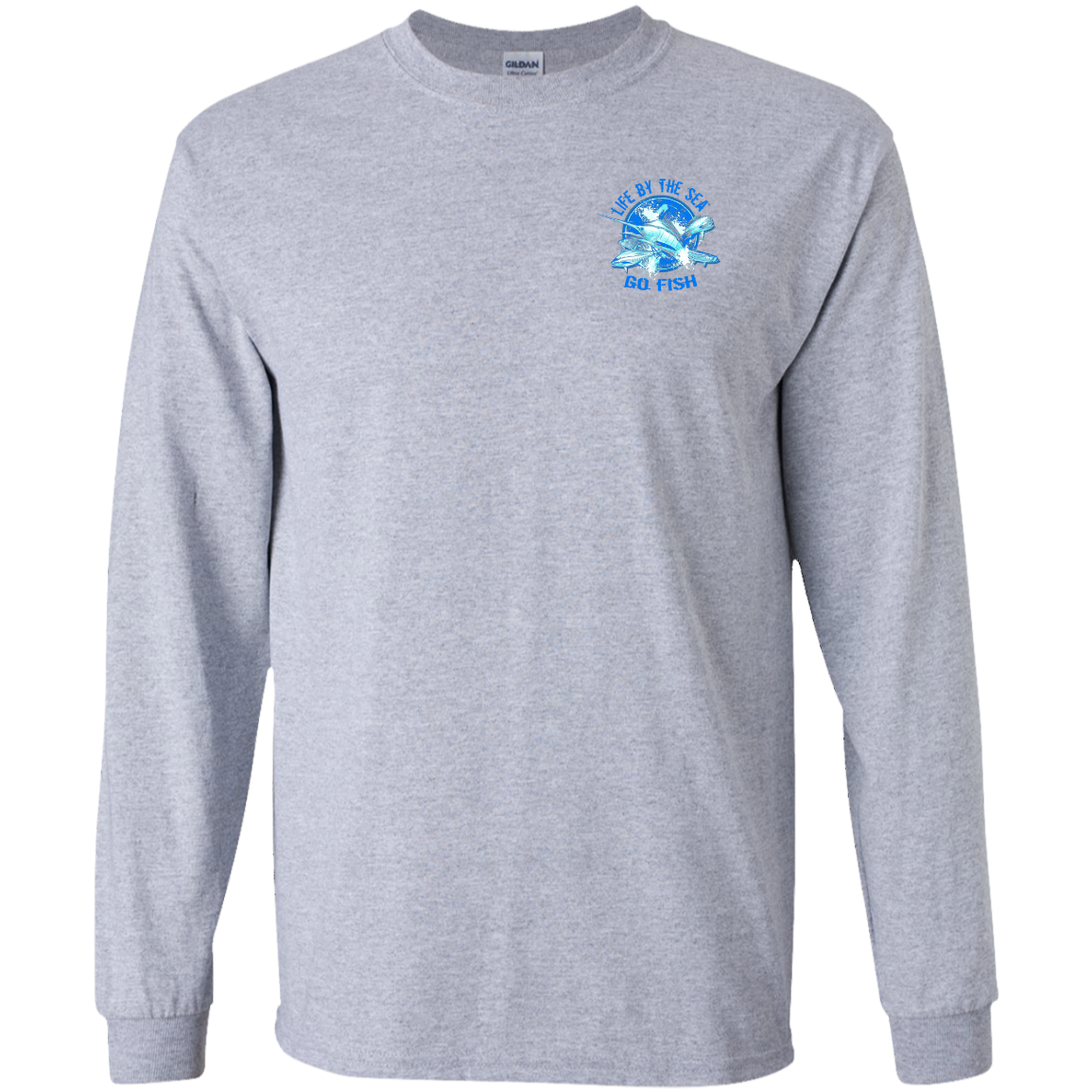 Go Fish Long Sleeve T-Shirt (Light)