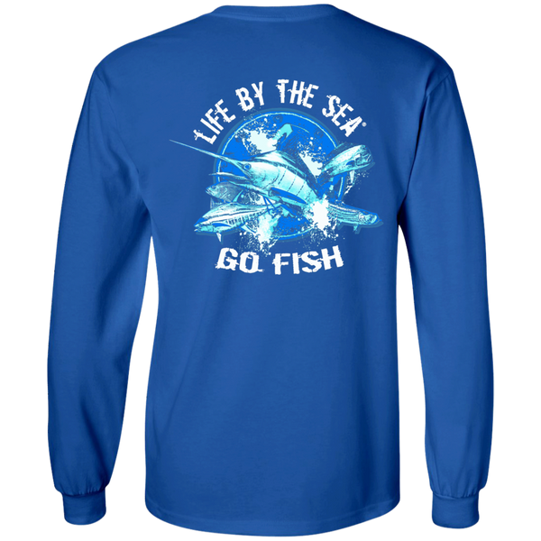 Go Fish Long Sleeve T-Shirt (Dark)