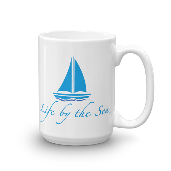 Sailboat Beach Mug