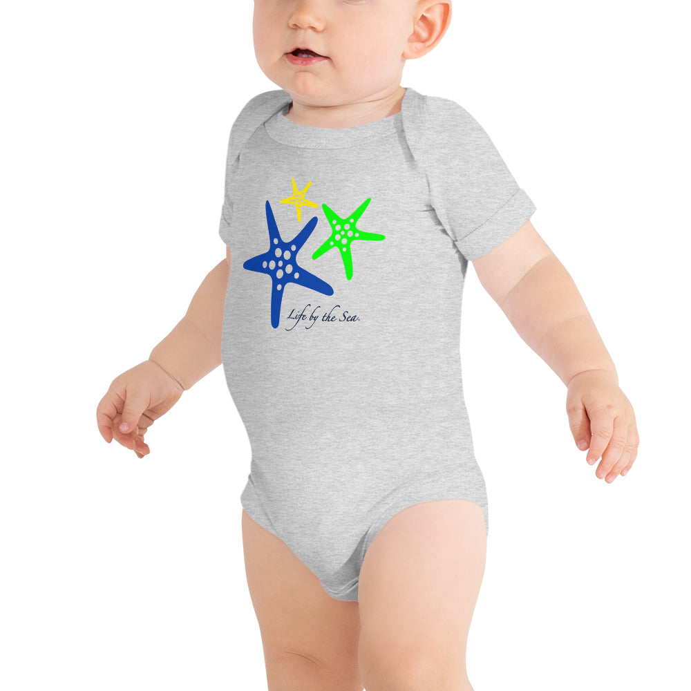 Colorful Starfish Onesie