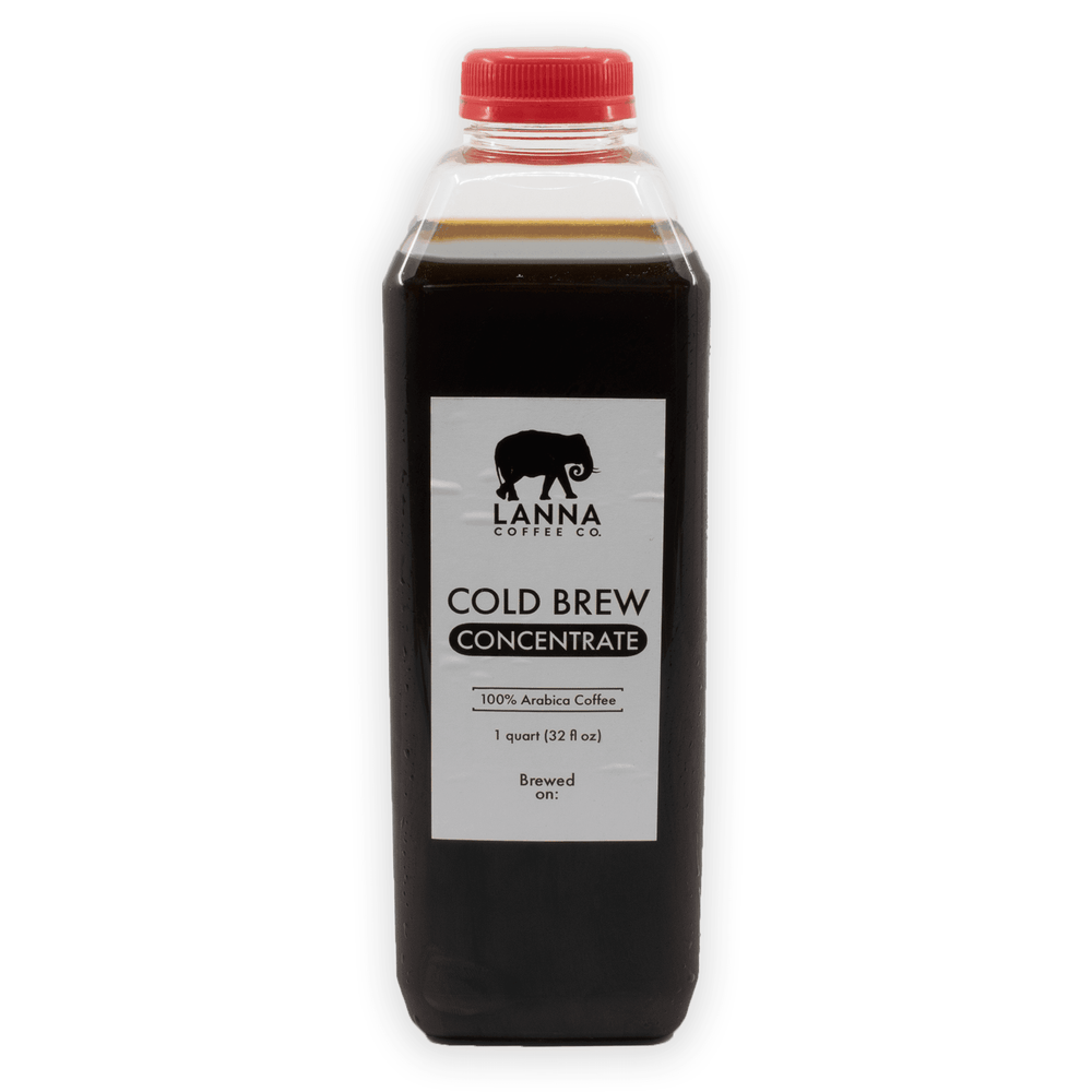 Lanna Coffee Co. Cold Brew Single Pack Cold Brew Concentrate