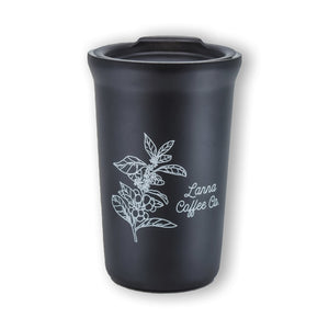 Load image into Gallery viewer, Lanna Coffee Co. Mugs Black Lanna Travel Tumbler