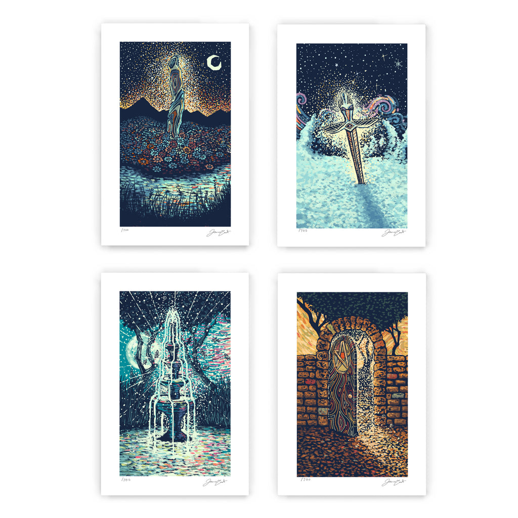 The Four Aces (Four Limited Edition Prints)
