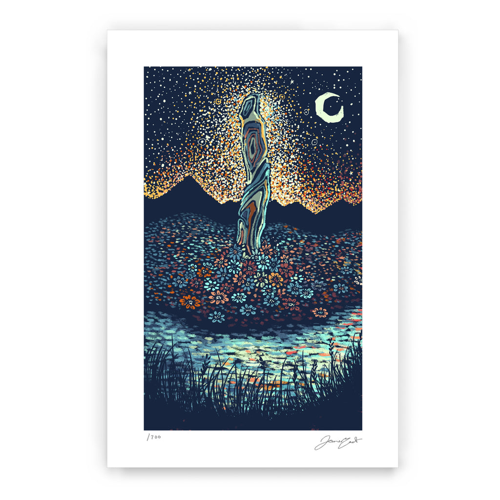 Ace of Wands (Limited Edition Print)