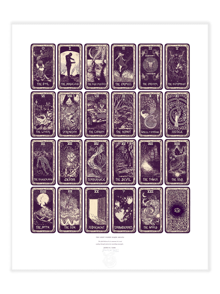 The Light Visions Major Arcana Print (Open Edition)