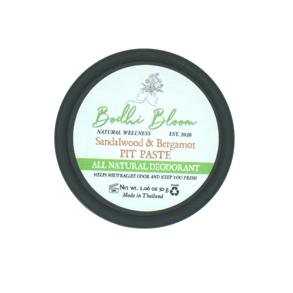 Sandalwood and Bergamot Pit Paste