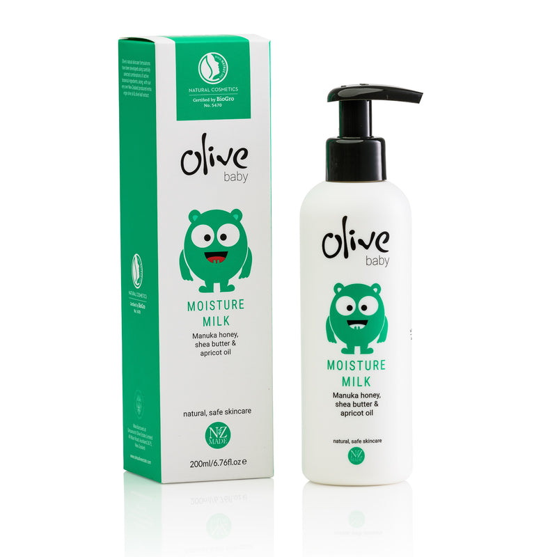 olive baby softening moisture milk 200ml
