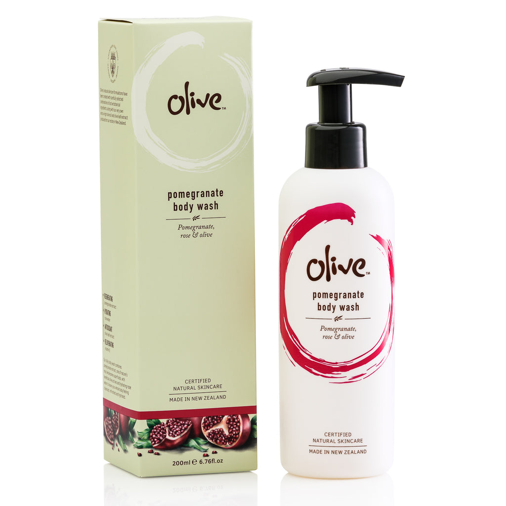 pomegranate body wash 200ml