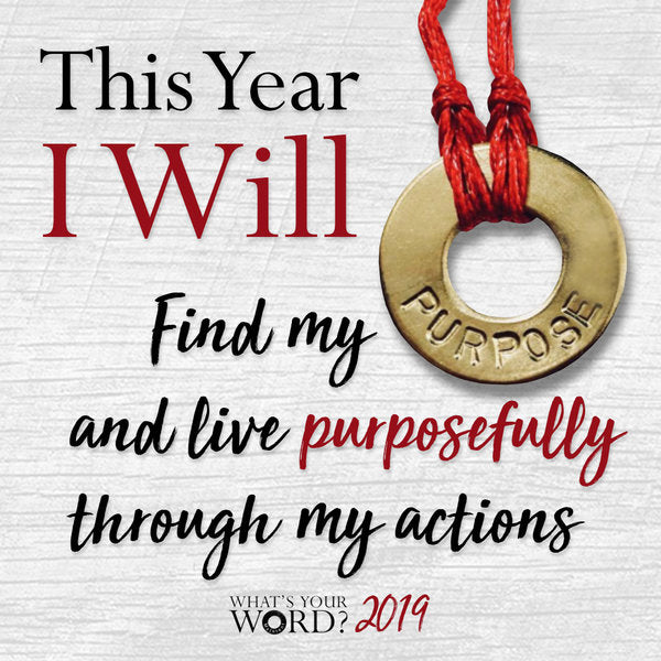 "Take the ""I Will"" Challenge & manifest what you want this year!"