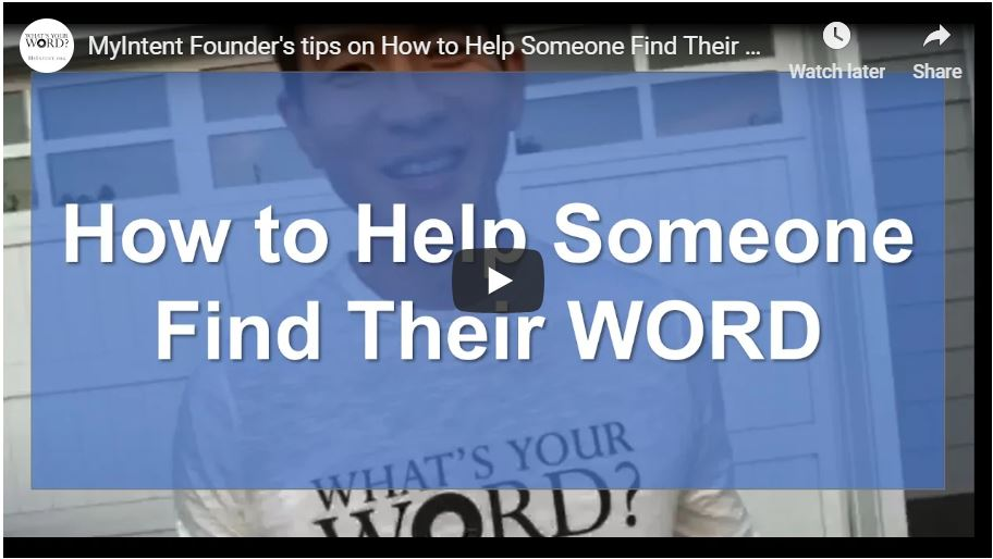 How to Help Someone Find Their WORD