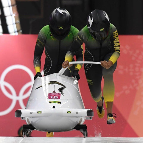 Team Jamaica bobsled