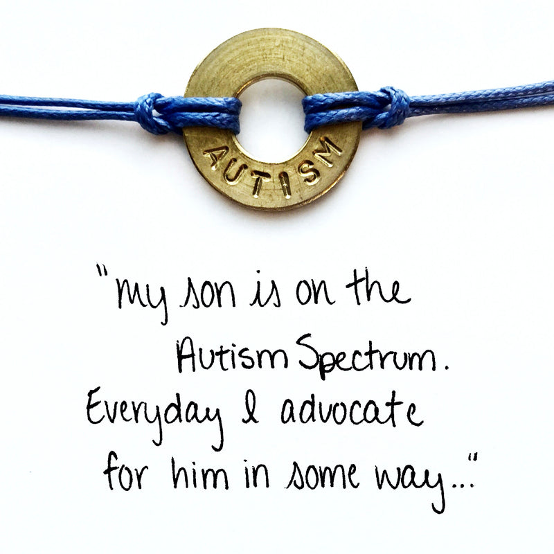 Customer sharing a story why they honor Autism Awareness Month with their MyIntent Classic bracelet
