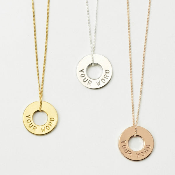 MyIntent Custom Dainty Necklace all color Gold Plated, Silver Plated and Rose Gold Plated
