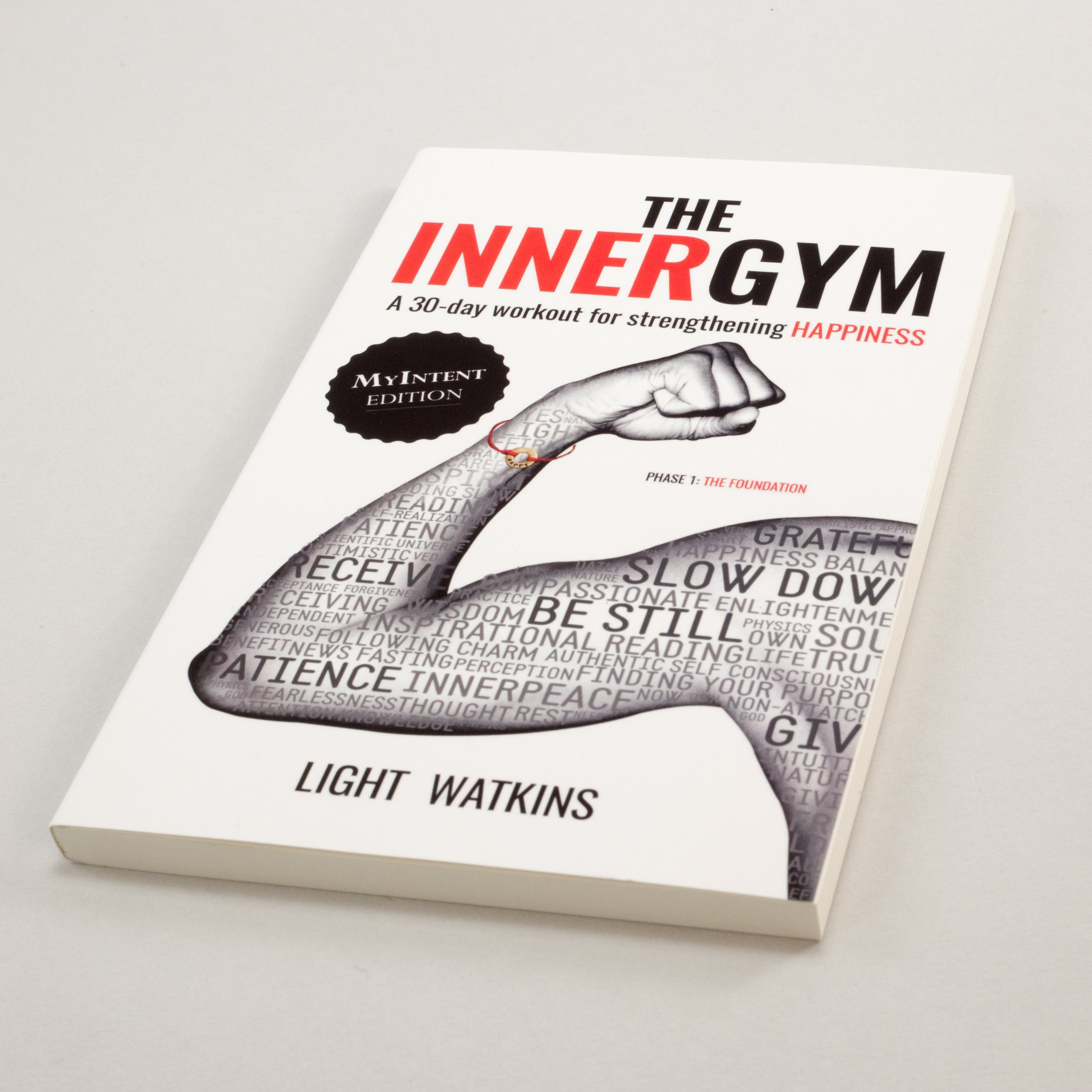 The Inner Gym book by Light Watkins is an inner workout to strengthen your